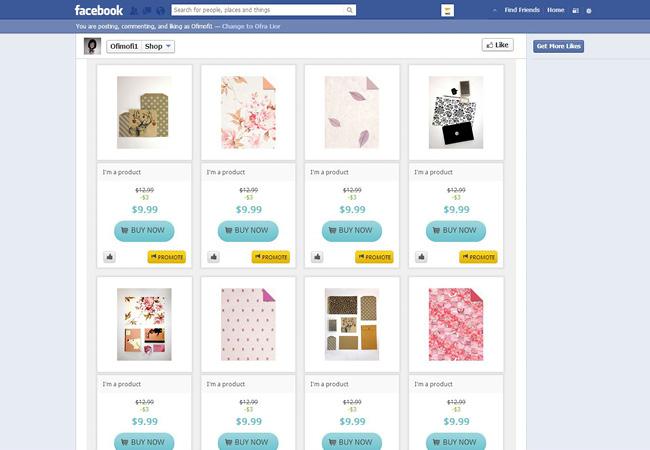WIx の最新オンラインショップ機能 - Facebook ショップ