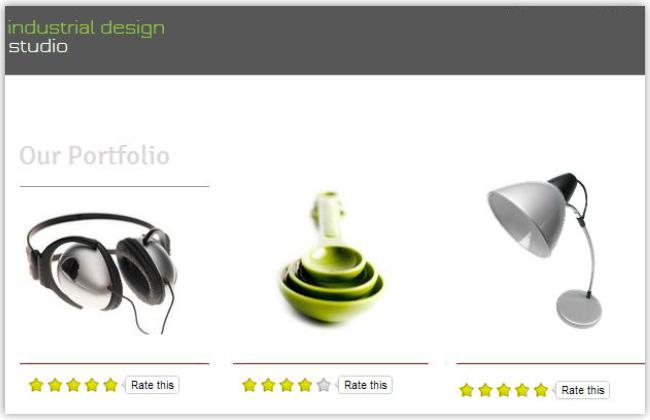 商品のレビューをRating Widget アプリでサイトに追加しよう