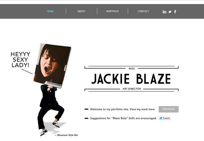 Wixホームページビルダーで作成された流行を上手に取り入れたHTML5サイト