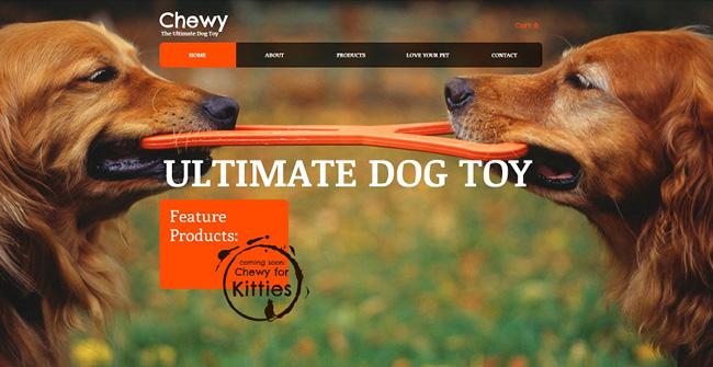 サイト背景に写真をフルスクリーンで使用したHTML5ホームページテンプレート