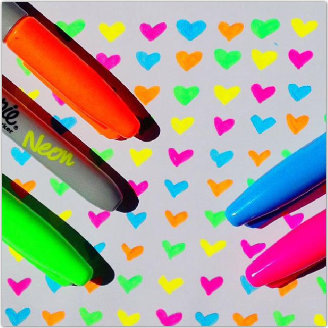 SharpieマーカーのInstagram写真