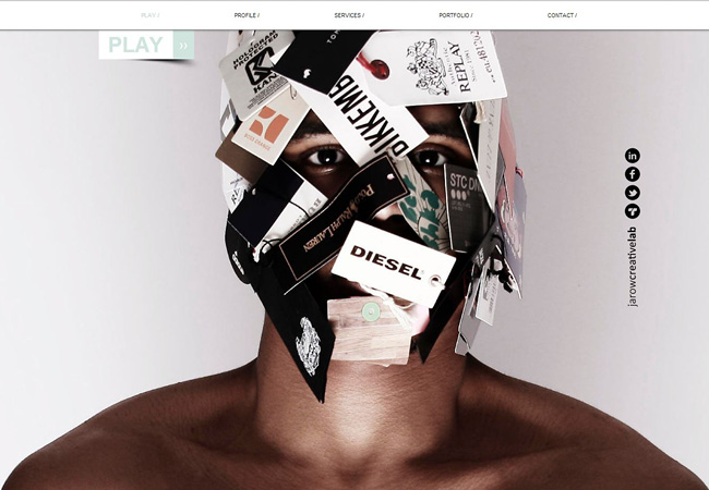 JarowのWixサイト