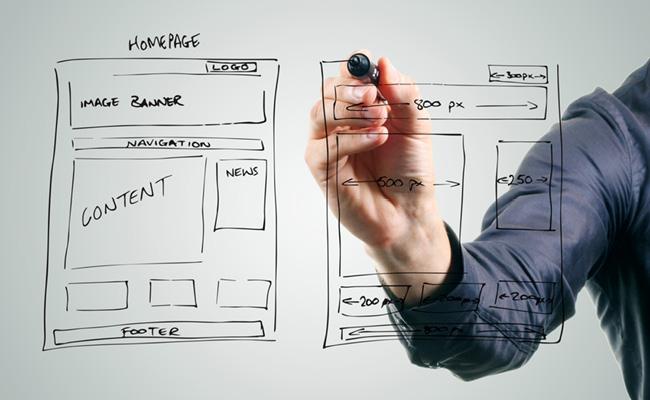 プロフェッショナルな Webデザイン コンテンツ