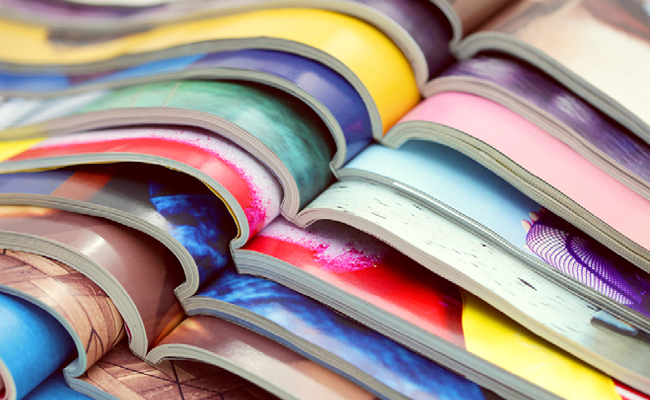 雑誌にもWebデザインのアイディアが満載
