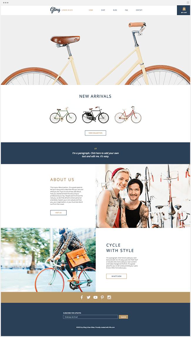 自転車専門店