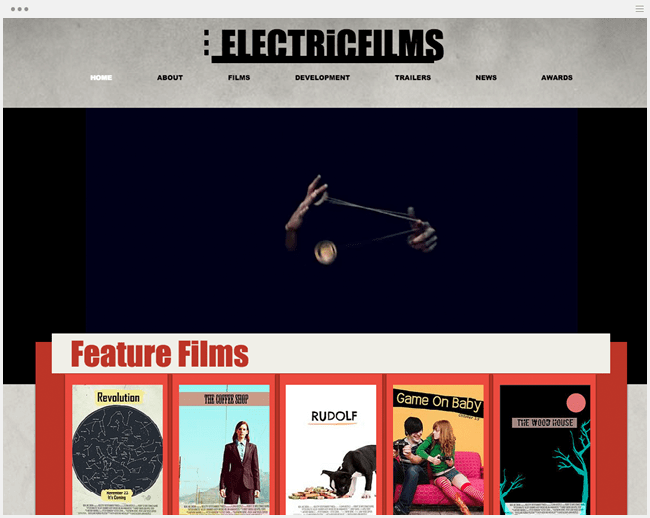 インディーフィルムホームページ